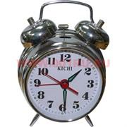Часы будильник механические большие 13,5 см
