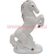 """Символ 2014 года оптом """"Лошадь из белого фарфора"""" (B697)"""