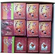 """Книжечки подарочные """"14 февраля"""" с пожеланиями, цена за уп из 60 шт"""
