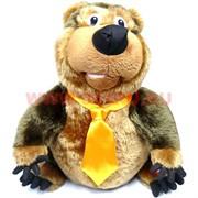 Игрушка музыкальная большая Медведь (песня Все рубины и жемчуга)