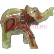 Слон 9 см, оникс (4 дюйма)
