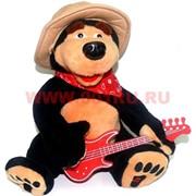 """Игрушка музыкальная """"медведь с гитарой"""" (поет, разговаривает) 24 шт/кор"""