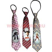 Прикольный галстук в ассортименте, цена за 12 шт