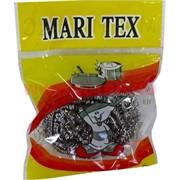 Нержавеющая мочалка Mari Tex для чистки посуды, цена за 12 штук
