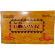 Благовония Golden Cobra Sandal (цена за 12 упаковок)