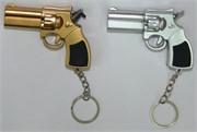 Пистолет брелок лазер + фонарик 24 шт/уп