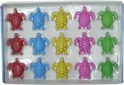 Морские животные растущие из черепахи 30 шт/уп