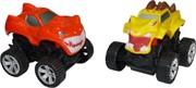 Игрушка иннерционная Машинки с зубами 12 шт/уп