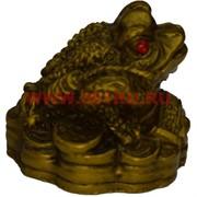 Жаба под бронзу маленькая 3,5 см (HN-502) 336 шт/кор