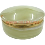 Шкатулка из оникса круглая (4 дюйма)