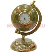 Глобус с часами большой