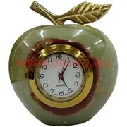Часы «Яблоко» малые (2 дюйма) из оникса