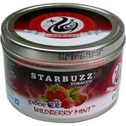 "Табак для кальяна оптом Starbuzz 100 гр ""Wildberry Mint Exotic"" (дикие ягоды с мятой) USA"