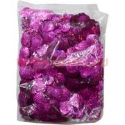 """Пайетки """"ракушки"""" фиолетовые цена за уп из 100 гр"""
