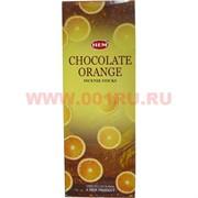 """Благовония HEM """"Шоколад+Апельсин"""", цена за уп из 6 шт"""