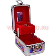 Шкатулка-автомат (101) 8х12 см для украшений, косметики