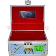 Шкатулка-автомат (106) 9,5х14 см для украшений, косметики