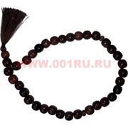 Четки из обсидиана 33 бусины (Армения)
