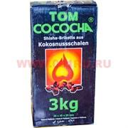 Уголь для кальяна Tom Cococha 3 кг 25х25х25 мм кубики