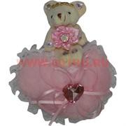 Мишка с сердечком 4 вида (108) цена за 24 шт