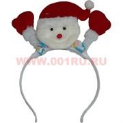 """Ободок """"Дед Мороз"""" цена за 12 шт"""