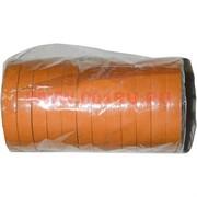 Флористическая лента оранжевая 50 м, цена за 12 штук