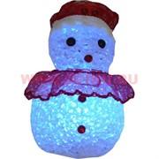 Снеговик светящийся (964) 10 см