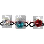 Резинка для волос (CJ2-576) цвета в ассортименте, цена за 48 штук
