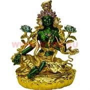 Шкатулка «фигурка буддийская» Зеленая Тара металл (NS-691)