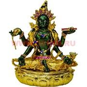 Шкатулка «фигурка буддийская» Зеленая Тара металл