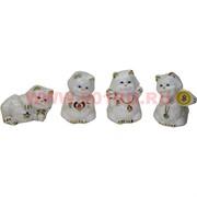 Кошечки фарфоровые набор из 4 шт (629C)