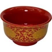 Чаша буддийская для подношений красная, цена за 8 шт