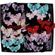 "Резинка для волос (CJ2-674) ""бабочка"" (цена за уп из 50 штук)"