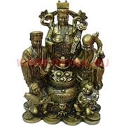 Нецке, Три старца ФуЛуШу с детьми 20 см (NS-383)