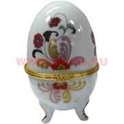 Яйцо белое 11см, фарфор