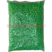 Жемчужины бусы для рукоделия 6мм зеленые 500 гр