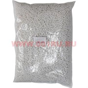 Жемчужины бусы для рукоделия 6мм белые 500 гр