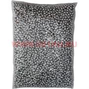 Жемчужины бусы для рукоделия 4мм серебрянные 500 гр