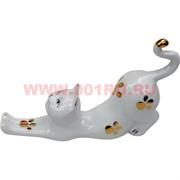 Кошка из фарфора (21 см длина)