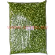 Жемчужины бусы для рукоделия 4 мм (P-55) оливковые 500 гр