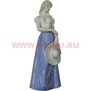 Девушка со шляпой (181) 30 см, фарфор