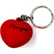 "Брелок мягкий ""сердце I love you"" цена за 100 штук"