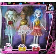 Куклы Monster High набор из 3 штук (60 шт/кор)