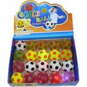 "Мячик светящийся ""футбол"", цена за 24 шт"