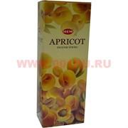 "Благовония HEM ""Apricot"" (абрикос) 6 шт/уп, цена за уп"